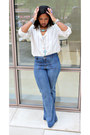 Forever-21-jeans-liz-claiborne-blouse