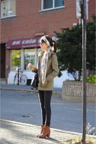 balenciaga bag - Deeny and Ozzy boots - H&M coat - Zara jeans