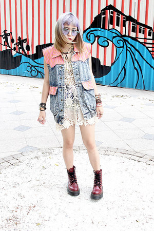Dr Martens shoes - Princessa dress - The Editors Market jacket