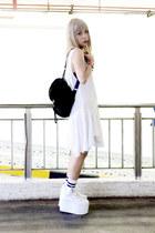 UNIF dress - Topshop bag - YRU sneakers