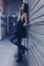 Andee-black-miista-heels-cotton-black-h-m-top
