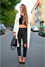 Trench-h-m-coat-fashion5-jeans-cropped-shirt-fashion5-shirt-black-zara-bag