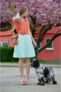 Coral-c-a-shirt-vintage-bag-h-m-skirt