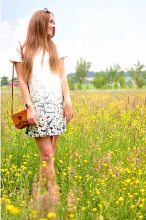 Mohito dress - vintage bag
