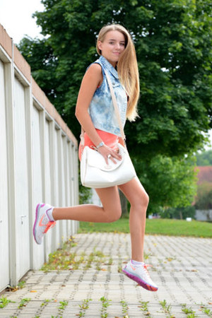 pink Mohito dress - pink nike sneakers