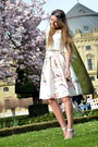 White-lidl-shirt-vintage-sunglasses-floral-sheinside-skirt