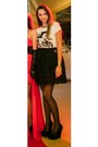 White-cartoons-zara-t-shirt-black-lace-adina-junc-skirt