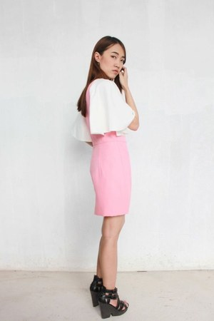 bubble gum polyester Perestroika Clothing dress