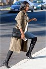 Knee-high-boots-steve-madden-boots-suede-missguided-coat