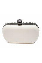 Off White Studded Unbranded Bags