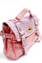 Light Pink Ostrich Unknown Brand Bags