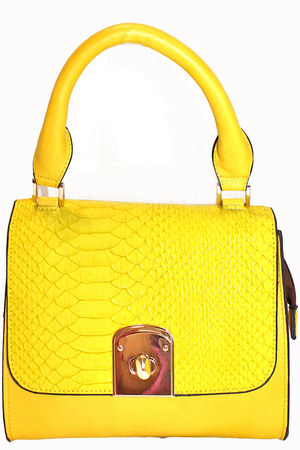 yellow unbranded bag