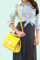 yellow yellow unbranded bag