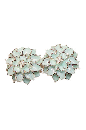 aquamarine unbranded earrings