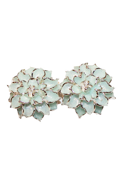 aquamarine unbranded earrings