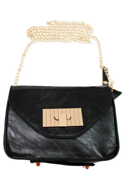 black unbranded bag