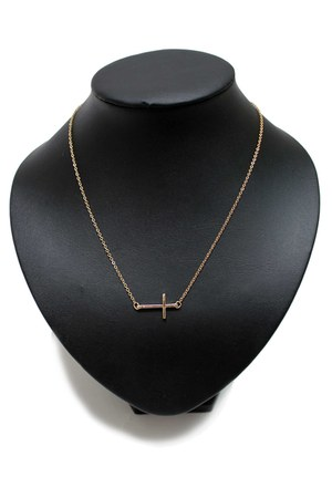 gold cross unbranded necklace