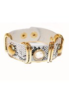 snakeskin unbranded bracelet