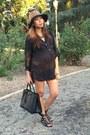 Brown-bcbg-hat-black-forever-21-shirt-black-prada-bag-black-fergie-sandals