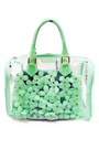 Aquamarine-jelly-flower-unbranded-bag