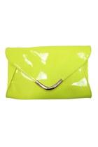 Chartreuse-flourescent-unbranded-bag