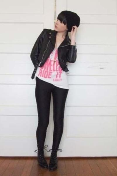 handmade hat - vintage jacket - vintage shirt - aa pants - vintage shoes - UO ne