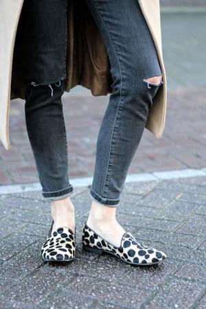 dark gray loafers - dark gray loafers
