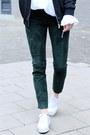 Dark-green-pants