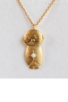jizo & chibi necklace