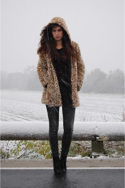 Zara coat - Zara boots