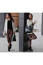 Zara boots - Zara blazer - Zara bag - Zara pants