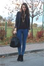 Parfois bag - Zara boots