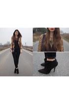 Zara boots - Zara jeans - Zara blazer