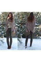 Zara bag - Bershka jumper - Zara pants