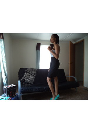 aquamarine Forever 21 dress