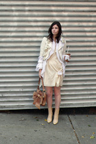 La Perla sweater - Target blazer - Gap dress - vintage michel perry boots - vint