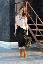 Prada boots - moss ps1 PROENZA SCHOULER bag - Yohji Yamamoto skirt - Target inti