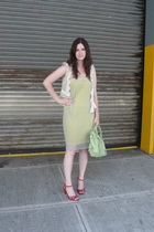 Helmut Lang dress - Walter - Marc by Marc Jacobs shoes - balenciaga purse