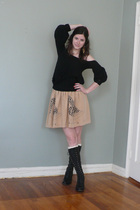 Givenchy shirt - Corey Lynn Calter skirt - Fiorentini & Baker boots - Rachel Lei