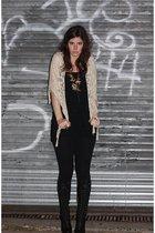Dana Buchman skirt - Alice & Olivia pants - Mctega accessories - Fiorentini & Ba