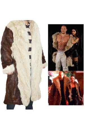 fur coat Samishleather coat