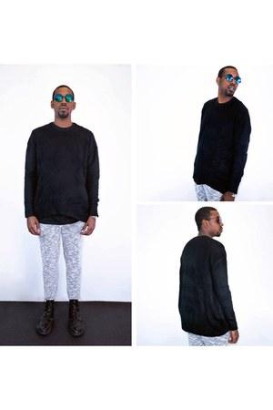 polyester Zanerobe jeans - Sukiired sweatshirt
