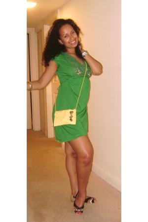 dress - H&M purse
