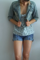Fox jacket - legend jeans - Mango blouse