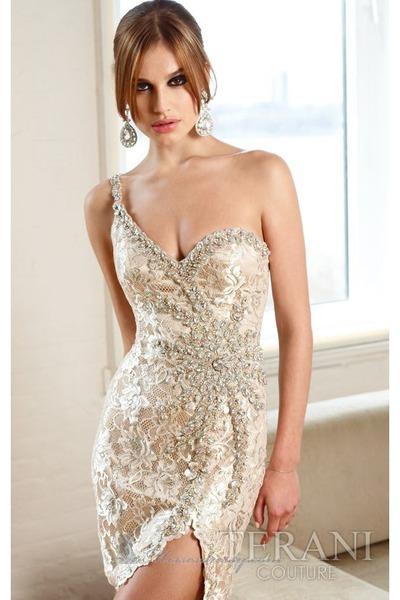 crystal lace terani dresses glambition by joyces. Black Bedroom Furniture Sets. Home Design Ideas