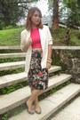 Vintage-blazer-zara-skirt-john-brianne-top