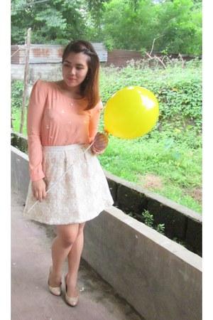 Bear Taro blouse - Clef de Sol skirt