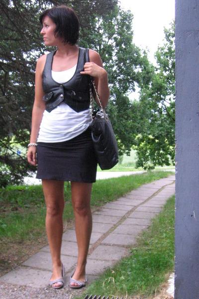 Seppl vest - skirt - accessories - H&M shoes