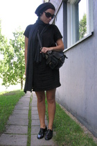 Mulberry purse - asos dress - Ellos shoes - seppl hat