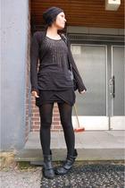 lindex top - JC skirt - hat